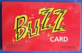 Scene It The Simpsons Replacement Buzz Cards Game Part Piece - $6.99