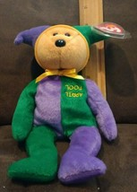 TY APRIL FOOL the BEAR BEANIE BABY - TY STORE EXCLUSIVE - MINT with MINT... - $9.99