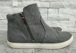 KENNETH COLE Gray Zip Up Flat-Heeled Ankle Boots for Women, Keenan, Size 8.5 M - $18.70