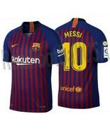 a4da888ab04da3 Nike Lionel Messi FC Barcelona Authentisch Vapor Match Heim Trikot 2018 ...  -