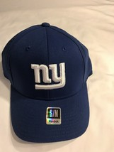 Team New York Giants NFL Reebok Royal Blue Cap Size Small/Medium New with Tags - $14.20