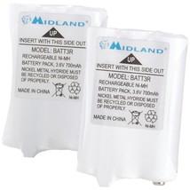 Midland AVP14 2-Way Radio Rechargeable Battery Pack, 2 pk - $33.01