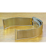 Duchess USA 20mm 1960s Gold Mesh 1/40 10K R.G.P New Old Vintage Watch Band - $71.25