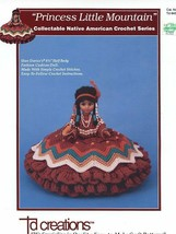"Princess Little Mountain Crochet PATTERN LEAFLET for 8.5"" Half Body Doll... - $6.27"
