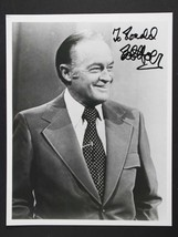 Bob Hope (d. 2003) Signed Autographed Glossy 8x10 Photo - $59.99