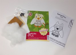 Create Your Own Felt Character Craft Kit Owl - $8.81