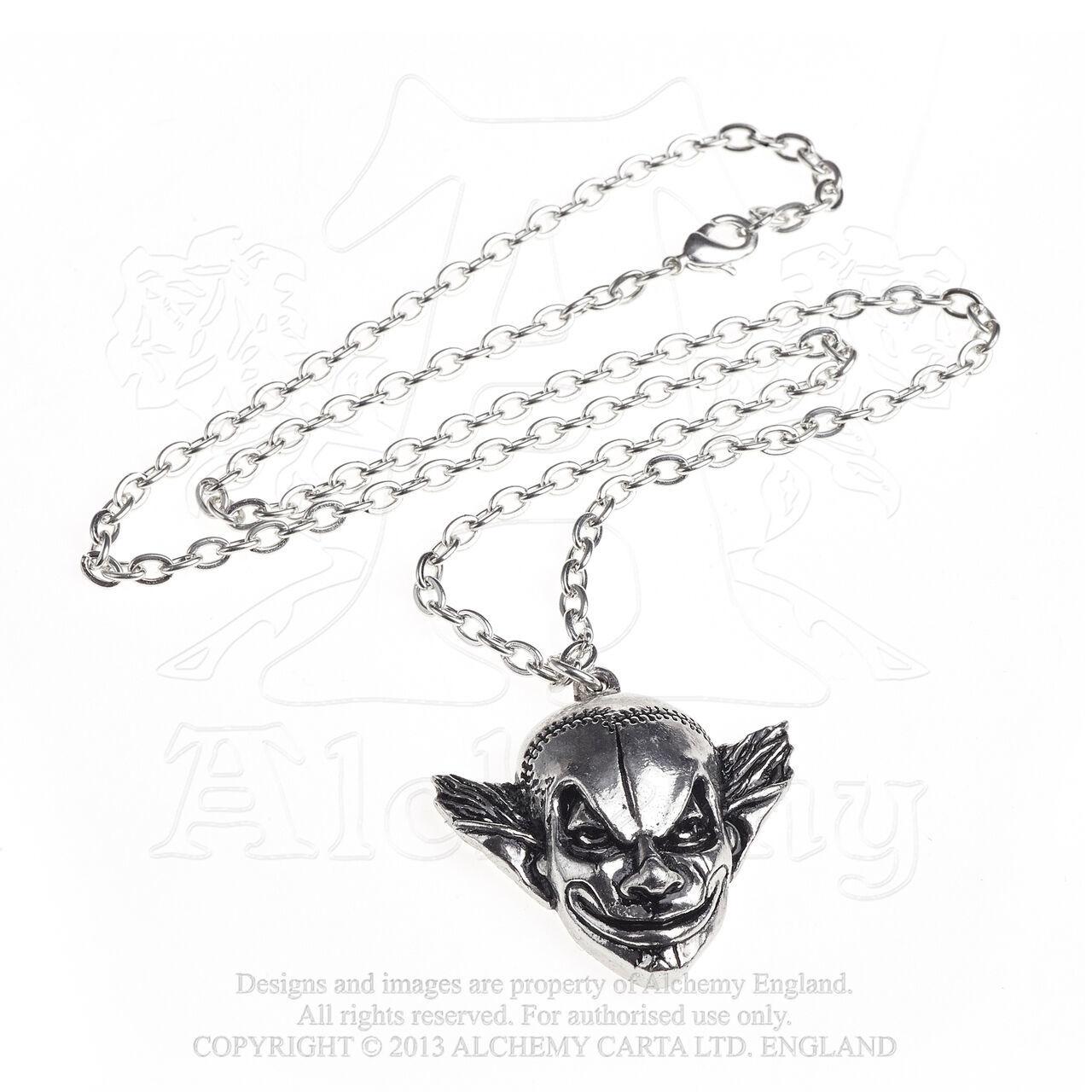 M'era Luna Evil Clown Pendant by Alchemy Gothic