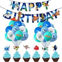 Finding Nemo Birthday Party Supplies, Finding Nemo Theme Party Decorat - $33.99
