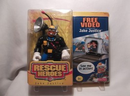 Rescue Heroes Jake Justice 2003 Fisher Price with free video - $10.00