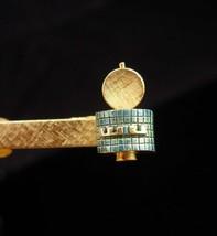 Weather Underground satellite Tie Clip / Vintage weatherman gift / Clima... - $125.00