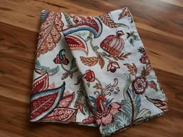 VTG Pair Pottery Barn Pair of Lolita Standard Pillow Shams ~ Butterflies... - $35.59
