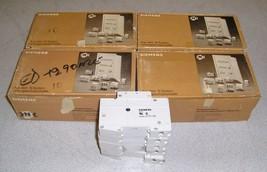 QTY 45 NEW Siemens 5SX2125-7 5SX21 C25 1 Pole Circuit Breaker 230/400VAC 25A - $75.00