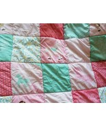 Circo Pretty Horses Full Size Quilt Comforter Blanket Ponies Pink Patchwork - $46.49