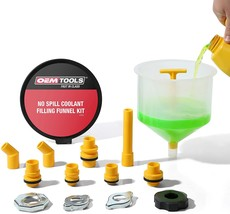 OEMTOOLS 87009 No-Spill Coolant Funnel Kit, Near Universal - $27.12