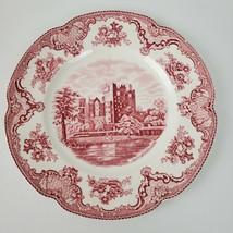"Vintage Johnson Bros England Old Britain Castles Blarney Dinner Plate 10"" - $23.75"