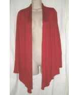 Isaac Liev -Red Fly Away Cardigan - Small - NWOT - LPAP395299022319J - $6.44
