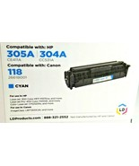 """LD Toner Cartridge HP304A/305A CE411A, CC5631A """"CYAN"""" - $24.74"""