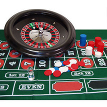 "ROULETTE SET - 18"" Inch Professional Roulette Set with Accessories - DEL... - $169.99"