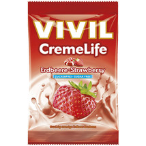 VIVIL Creme Life hard candies: STRAWBERRY -1 bag - FREE US SHIPPING - $8.86