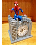 Spiderman Interactive Theme Song Alarm Clock-no sound or alarm. clock wo... - $18.80