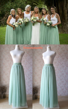 Tulle TUTU Color chart Color Swatches Women Tulle Skirt Wedding Tulle Outfits image 10