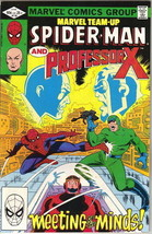 Marvel Team-Up Comic Book #118 Spider-Man and Professor X, 1982 FINE+ - $2.25