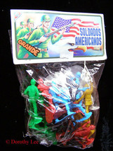 WWII American Soldiers Marx Toy Soldier New - $32.99