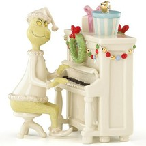 Lenox Grinch's Christmas Melody Figurine Piano Dr Seuss Who Stole NEW IN... - $117.70