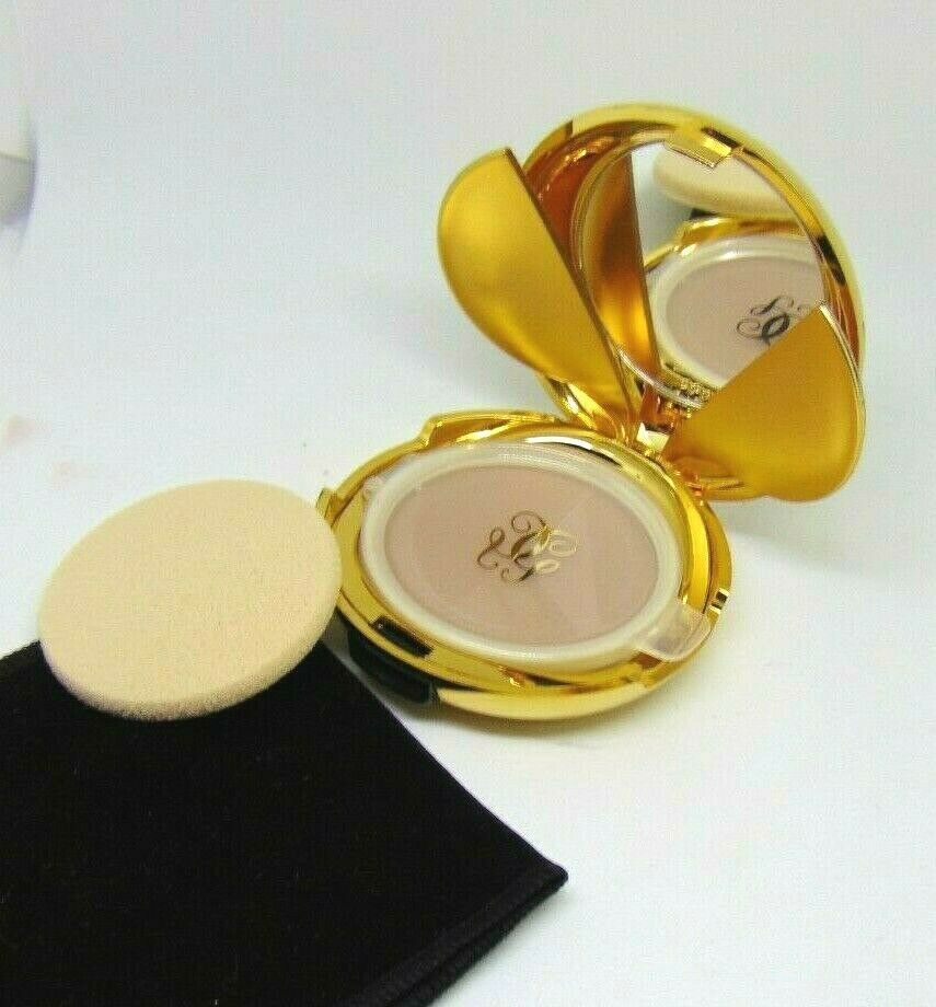 Primary image for GUERLAIN TWIN SET Compact Powder Foundation Spf15  No.57 Beige 0.38oz/11g