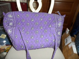 Vera Bradley large duffel bag in retired purple bandana pattern  - £46.85 GBP