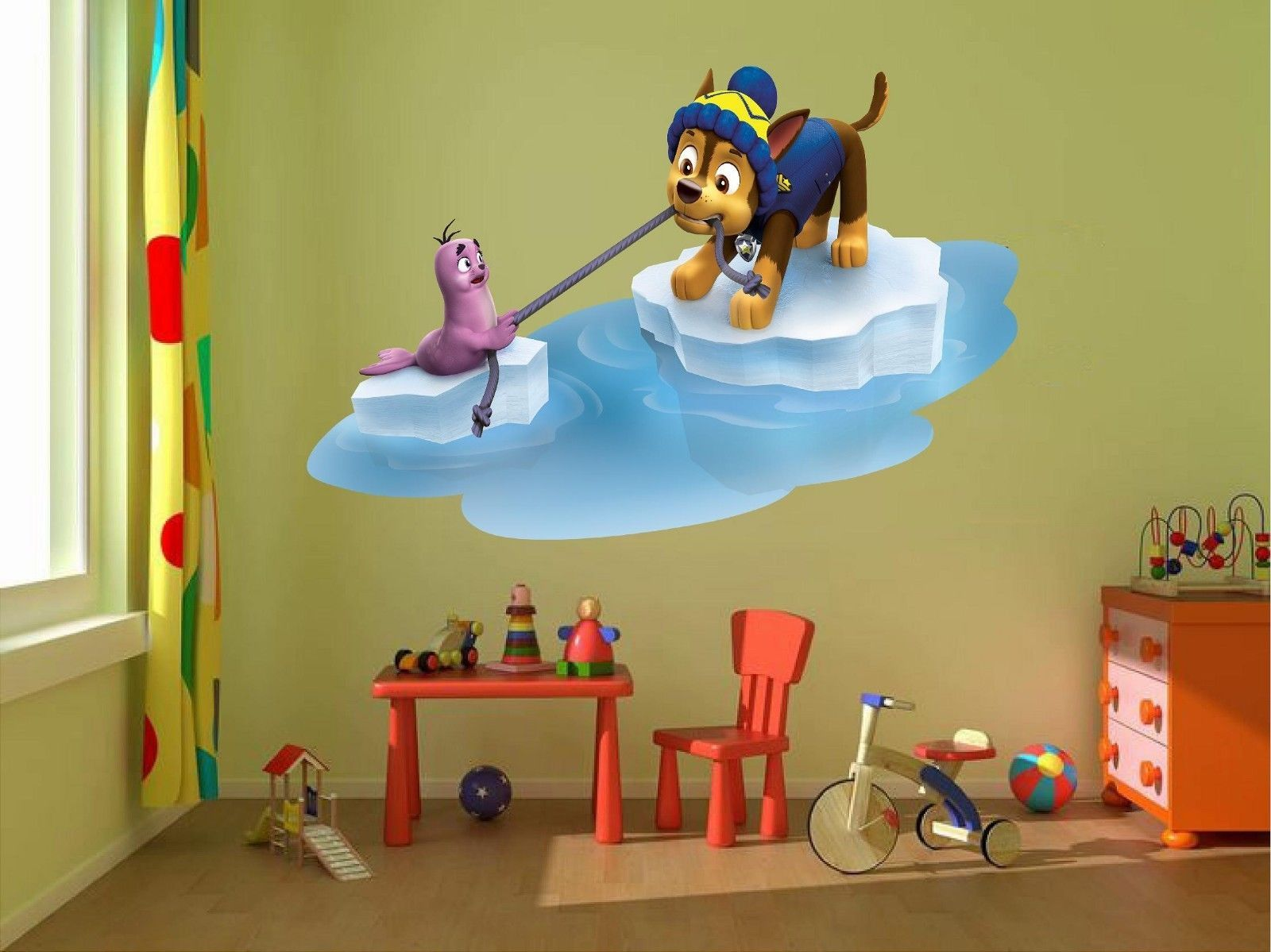 Paw Patrol Skye Marshall Chase 3d Wall And 50 Similar Items