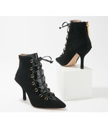 Louise et Cie Leather Lace-Up Ankle Boots - Vanida       @DA3A - $99.97