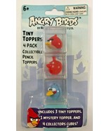 Angry Birds Tiny Toppers.4 Pack. Collectible Pencil Toppers.Mystery Cube - $12.86