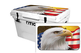 "RTIC Wrap ""Fits Old Mold"" 65qt Cooler 24mil Lid Kit American Hero Eagle - $36.95"