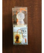 FRED DEEP TEA DIVER INFUSER - DIVING HELMET - LOOSE LEAF SILICONE TEA  S... - $10.99