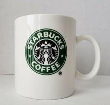 Starbucks Coffee Cup Mug Mermaid Logo White 12 Oz 2006 - $8.50