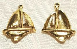 SAIL BOAT FINE PEWTER PENDANT - 18.5x24x5mm image 3