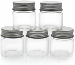 NEW Mini Mason Jars with Lids, Glass Jar Set (1.7 oz, 5 Pack) - $17.80