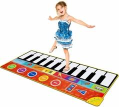 Cyiecw Piano Music Mat w/19 Keys, 8 Musical Instruments, Speaker & Recording