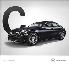 2015 Mercedes-Benz C-CLASS Sedan sales brochure catalog 300 400 - $8.00