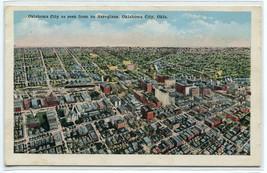 Panorama Aerial View Oklahoma City OK 1930s postcard - $6.93
