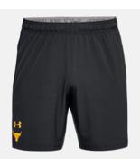 Under Armour Mens UA Project Rock Cage Shorts 1321420-001 Black Sizes XL... - £30.44 GBP