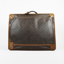 Louis Vuitton the French Luggage Co. Brown Monogram Canvas Pullman 65cm ... - $460.00