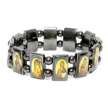 Orthodox Christian Religious Black Hematite Bra... - $7.92
