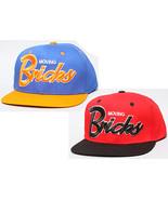 ROCK SMITH Moving BRICKS Snapback Hat Baseball Cap RED Royal adjustale N... - £9.64 GBP
