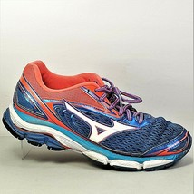 Mizuno Wave Inspire 13 Womens Blue And Red Athletic Shoes Size US 9 - $29.99