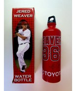 Los Angeles Angels of Anaheim Jered Weaver Aluminum Water Bottle -2012 S... - $7.99