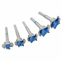 Auger Drill Bit Hinge Cutter Hex Wrench Woodworking Hole Opener Milling ... - $34.99