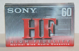 SONY - HIGH FIDELITY - 60 minutes Normal Bias Audio Cassette - $6.58 CAD