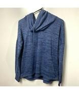 Athleta pullover cowl funnel neck sweatshirt womens medium - $34.65